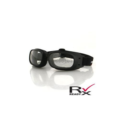 Piston Goggle, Black Frame, Clear Lens - MAXMARTZ