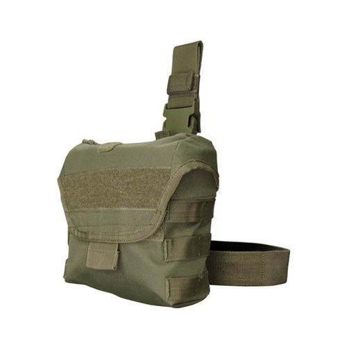 Drop Leg Dump Pouch Color- OD Green - MAXMARTZ