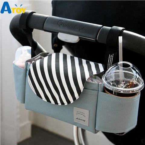Baby Stroller Bag Diaper Bags Organizer Nappy Bag For Strollers Waterproof Hanging Organizer Outdoor Travel Mummy Bags - MAXMARTZ