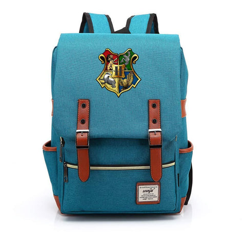 Harry Potter Travel Canvas Backpack Man Women Bag - MAXMARTZ