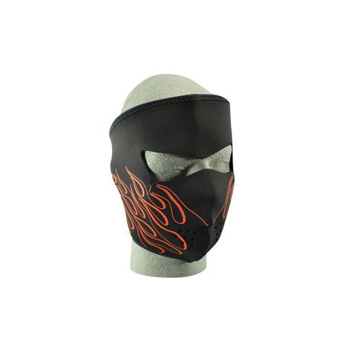 Full Mask, Neoprene, Orange Flame - MAXMARTZ