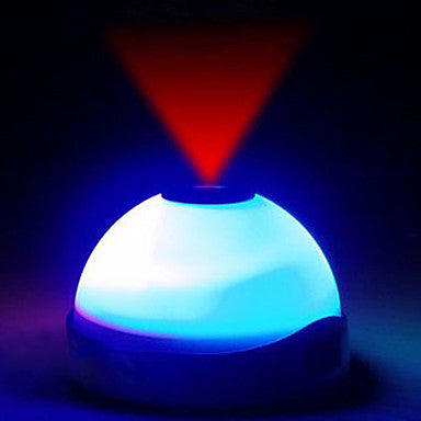 Alarm Clock with LED Light and Projector - MAXMARTZ