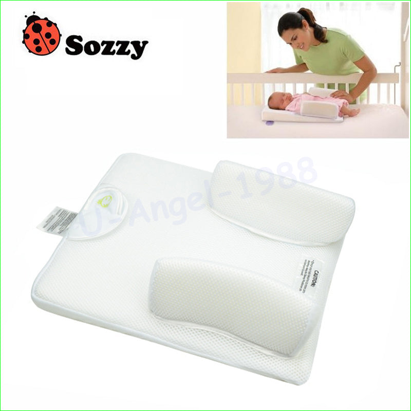 Memory Foam Pillow Designed for Newborn & Babies up to 6 Months - MAXMARTZ