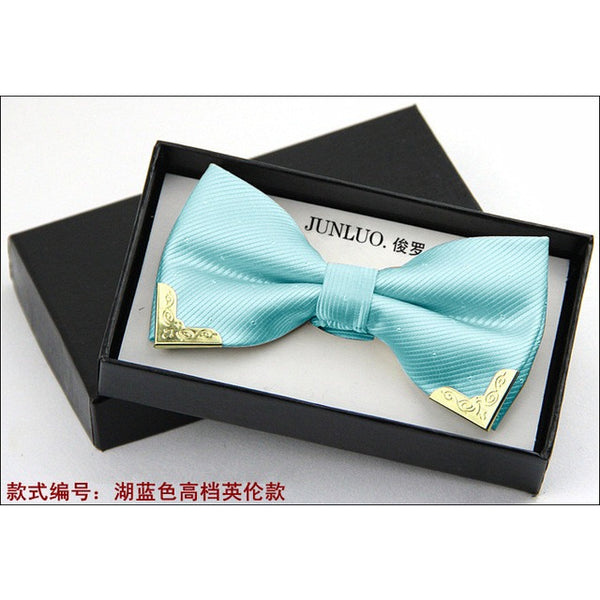 Bow Tie, Polyester-Silk Mix in 20 Colours! - MAXMARTZ