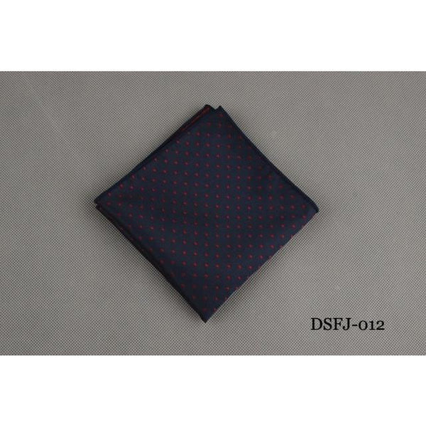 Mens Handkerchief for Wedding Polyester Printed Hanky Men's Fashion Business Pocket Square