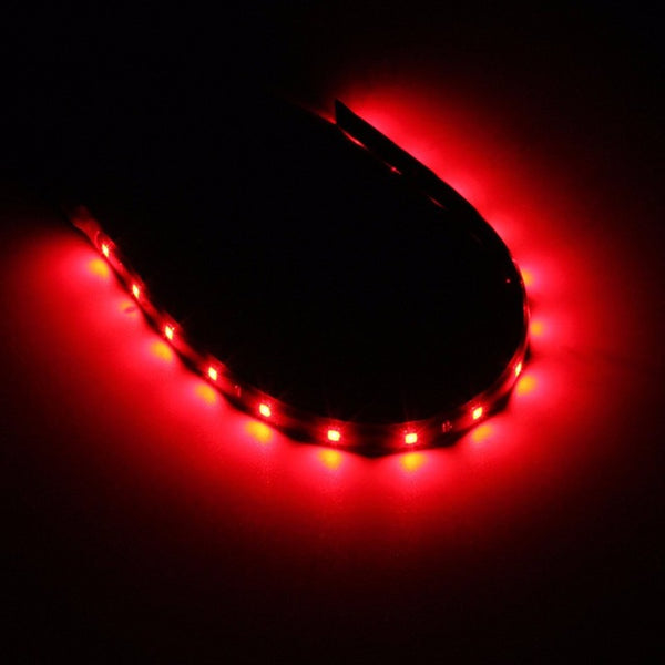 5x30CM 3528 SMD Super Bright 15 LED Flexible Neon DIY Home Car Led Strip Light Waterproof DC 12V - MAXMARTZ
