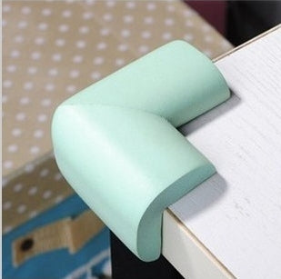 8pcs/ lot Soft Baby Safe Corner Protector Baby Kids Table Desk Corner Guard Children Safety Edge Guards Wholesale Free Shipping