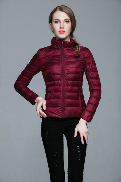 Ultra-Light Packable Jackets in Several Colours - Black, White, Blue, Pink, Red - MAXMARTZ