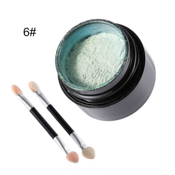 5G Fashionable Nail Glitter Powder Portable Size DIY Shinning Mirror Women Nail Beauty Makeup Powder - MAXMARTZ