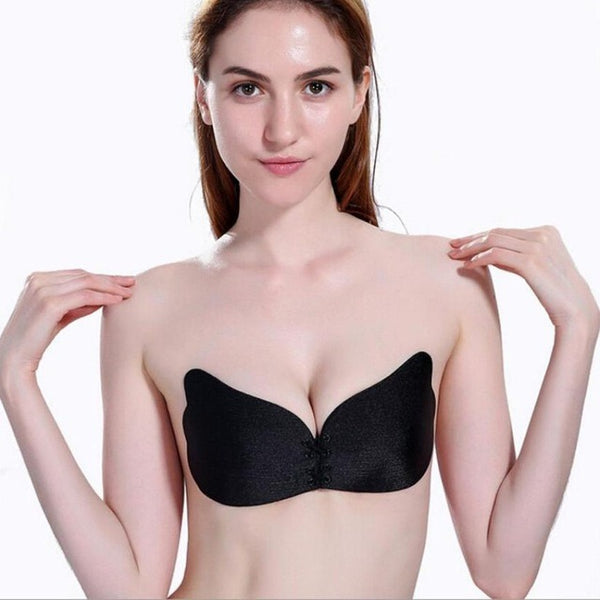 Women Wings Of The Goddess Instant Breast Lift Invisible Silicone Push Up Bra - MAXMARTZ