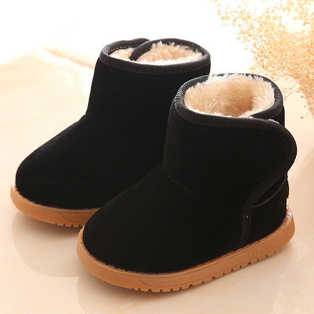 Winter Baby Child Style Cotton Boot Warm Snow Boots baby girls boot shoes - MAXMARTZ
