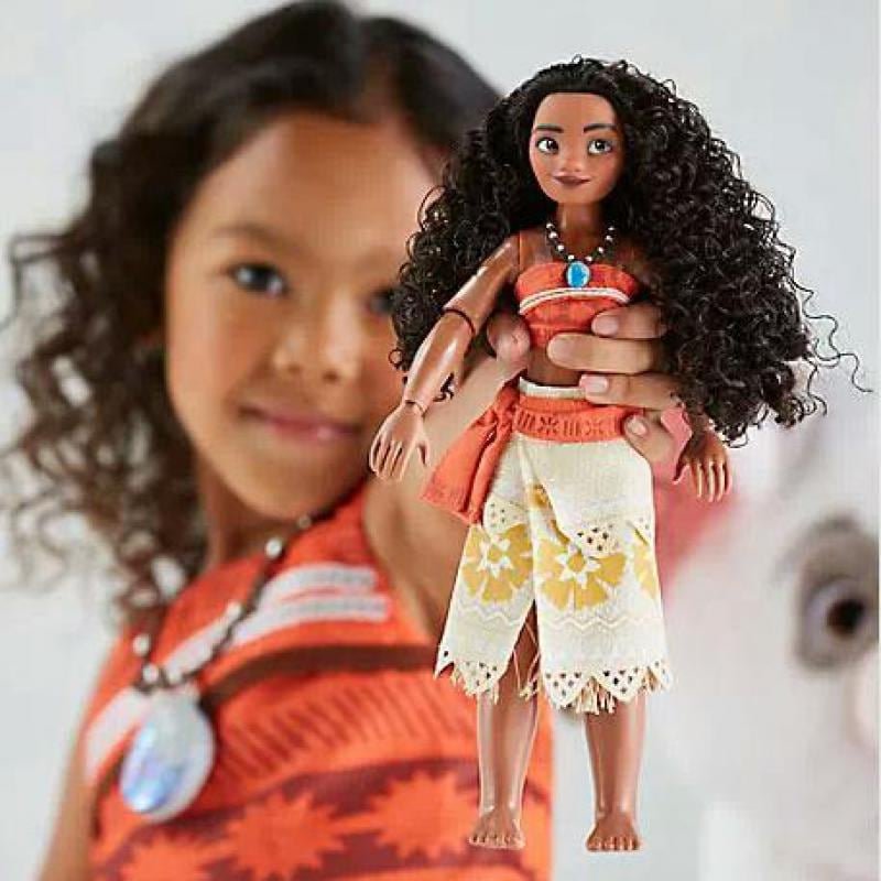 Moana figures toy moana dolls Maui Chick Handan Spotted Pig Action Figures Toys Model For Girls Kids Lover Christmas Gift 33cm