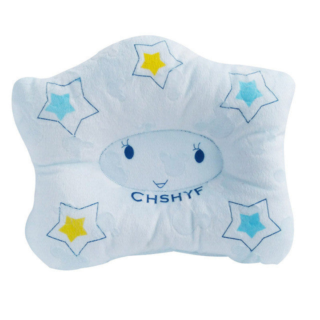 2017 New baby pillow infant shape toddler sleep positioner anti roll cushion flat head pillow protection of newborn almohadas