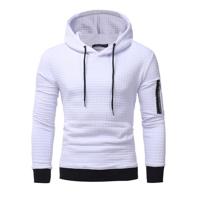 2017 New High-End Casual Hoodie Men'S Fashion Unique Korean Style Long-Sleeved Sweatshirt
