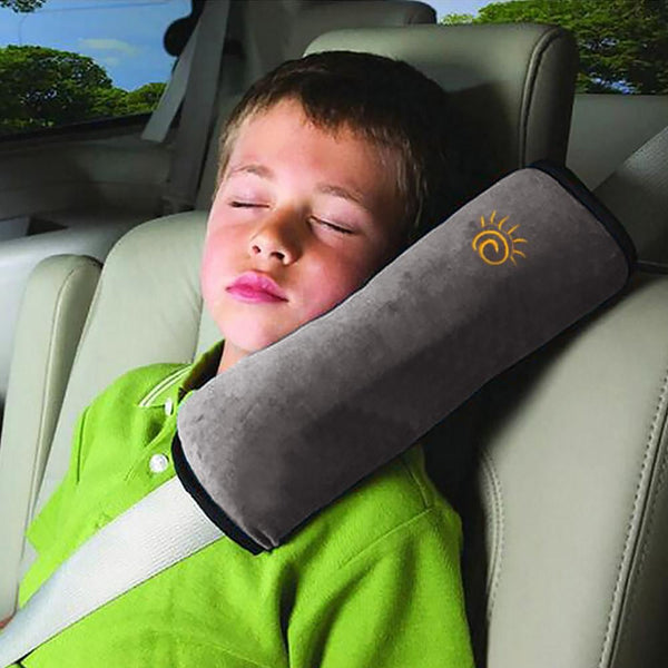 Baby Pillow Kids Shoulder Pad Cover Car Auto Safety Seat Belt Harness Children Head Protection Covers Anti Roll Pillow Cushion - MAXMARTZ