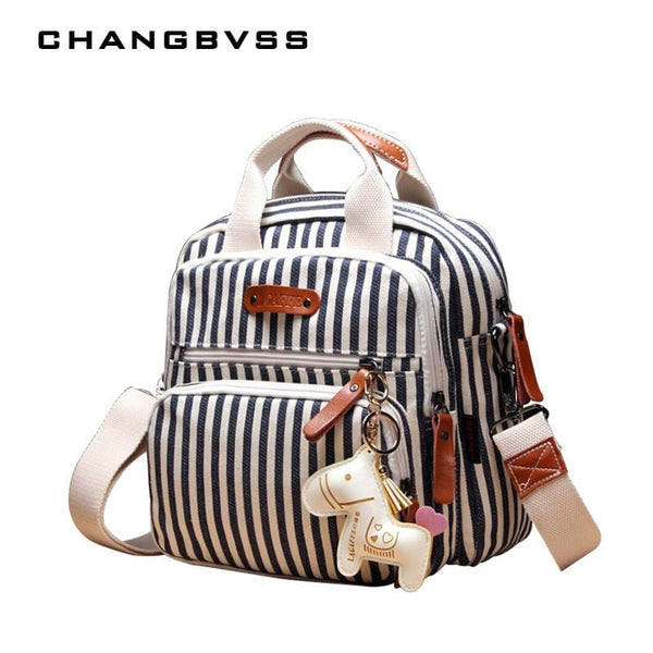 Multifunctional Fashion Diaper Backpack For Mom,New Cartoon Horse Decorate Mummy Bag for Baby,Top Quality Baby Diaper Nappy Bags - MAXMARTZ