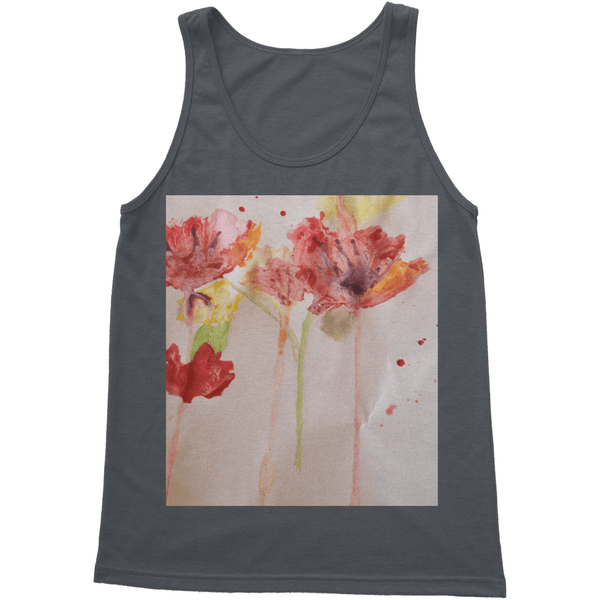 Softstyle Tank Top, An awesome unisex tank top, perfect for the summer heat or for layering. 100% preshrunk jersey knit cotton construction, 146gsm. - MAXMARTZ