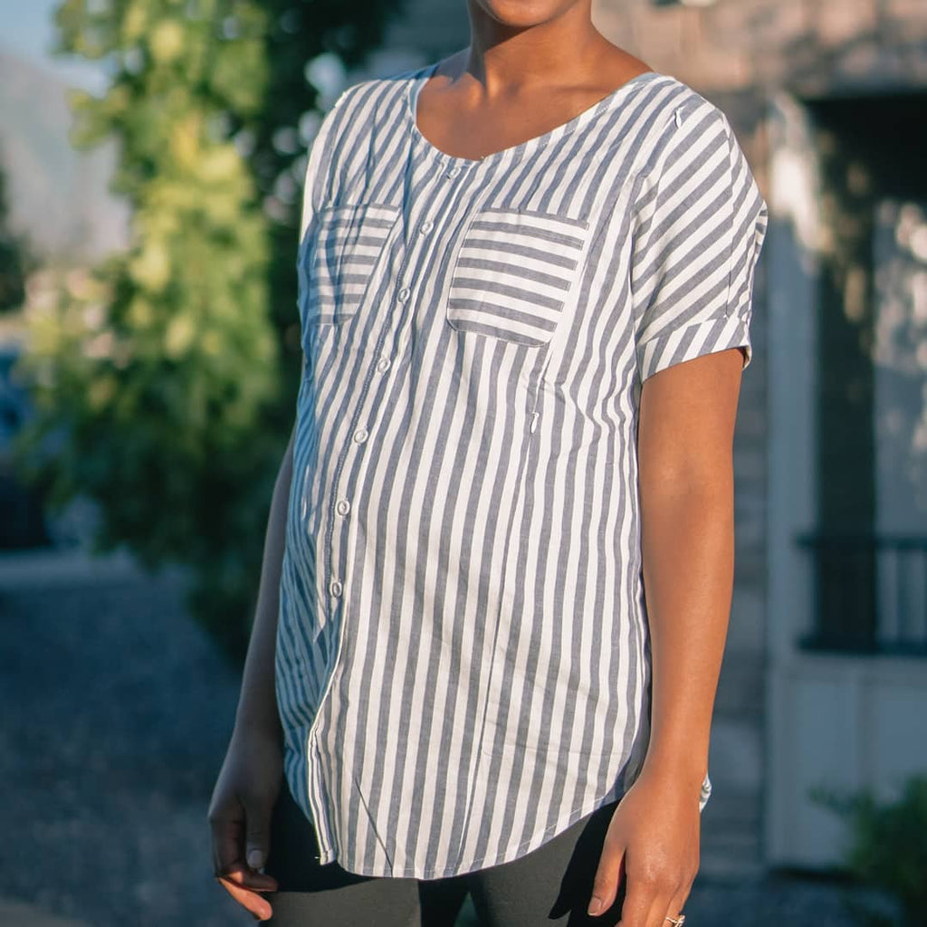 Nursing Belle Striped Tunic