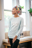 Nursing Sweatshirt - Sky Blue