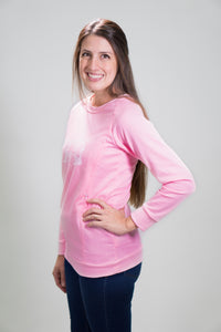 La Mère Nursing Sweatshirt - Light Pink