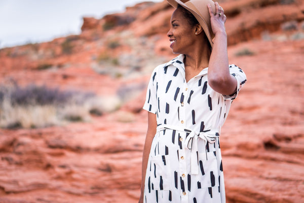Line Dot Sophie Dress