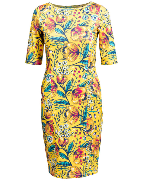 Floral Marlena Bodycon Dress