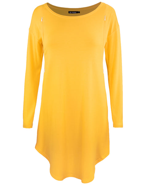 *LAST CHANCE* Nursing Tunic - Mustard