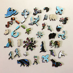 Serge Dube - I Will Go There Jigsaw Puzzle Whimsy Pieces