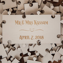 Jigsaw Puzzle Special Event & Wedding Guestbooks