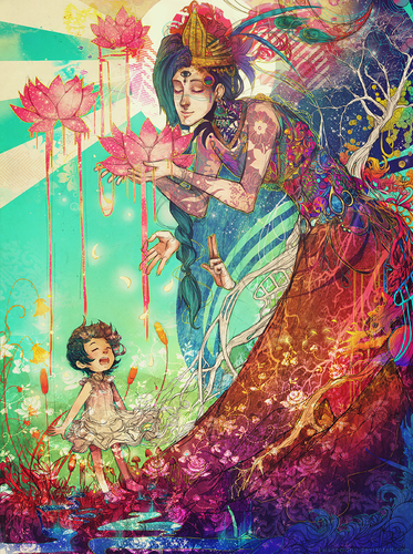 We Are the Lotus Kids by Monique Munoz