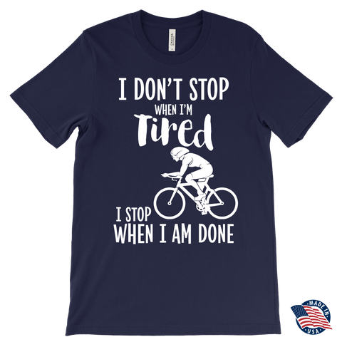 I Don't Stop When I Am Tired Canvas Mens T-Shirt