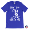 Image of I Don't Stop When I Am Tired Canvas Mens T-Shirt