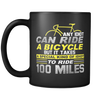 Image of 100 Miles Black 11oz Mug