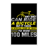 Image of 100 Miles Poster - 11x17