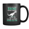 Image of Dinosaur Riding Black 11oz Mug