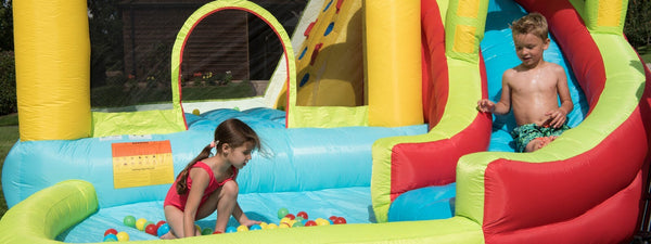 BeBop 8 in 1 Activity Bouncy Castle Explained