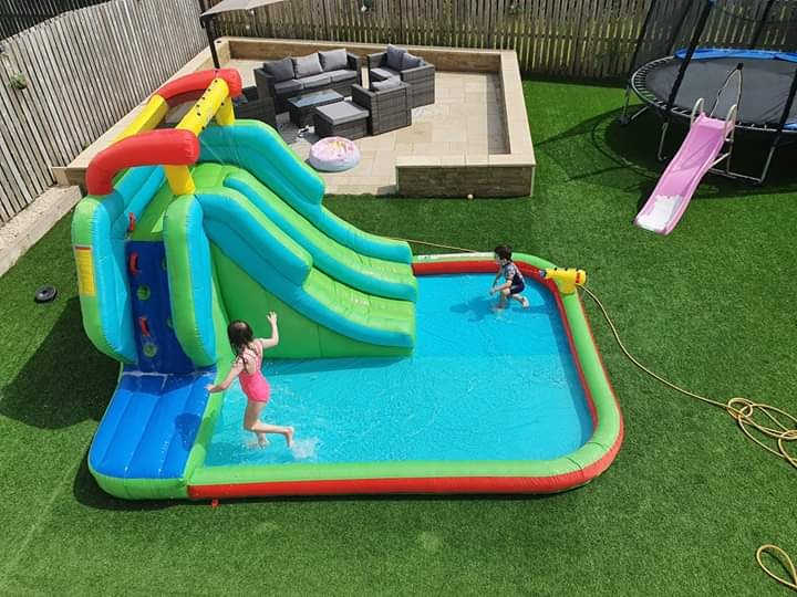 inflatable water slide setting up guide