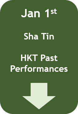 January 1: Hong Kong Past Performances (Sha Tin)