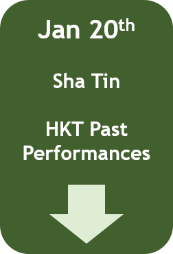 January 20: Hong Kong Past Performances (Sha Tin)