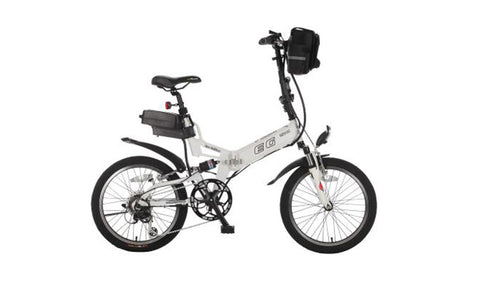 The EG Vienna is great for a fun and casual city ride that is easy to fold for quick transport and compact storage.