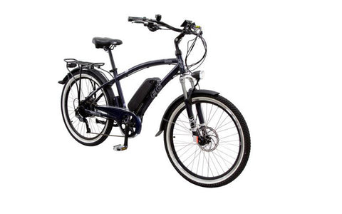 EG's Oahu 500 EX is both pedal and throttle assist, enjoy a speedy and enjoyable ride up to 20mph without assist. Test ride one today at Crazy Lenny's E-Bikes.