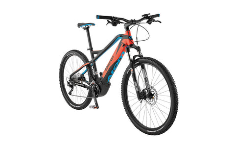 Easy Motion's ATOM 27.5 is for those that prefer the attributes of driving the crank over the rear hub when it comes to off-road performance.  See it today at Crazy Lenny's E-Bikes
