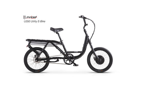 Juiced U350 (V3) - Utility Electric Bike - Crazy Lenny's E-Bikes