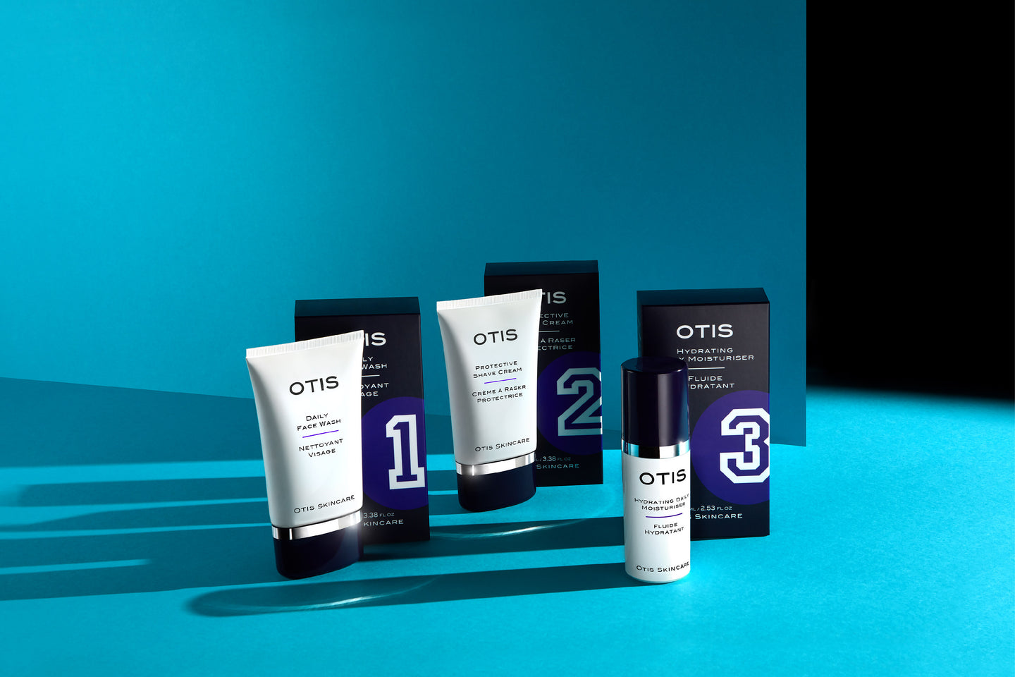 Otis Skincare - Three prestige skincare products for men