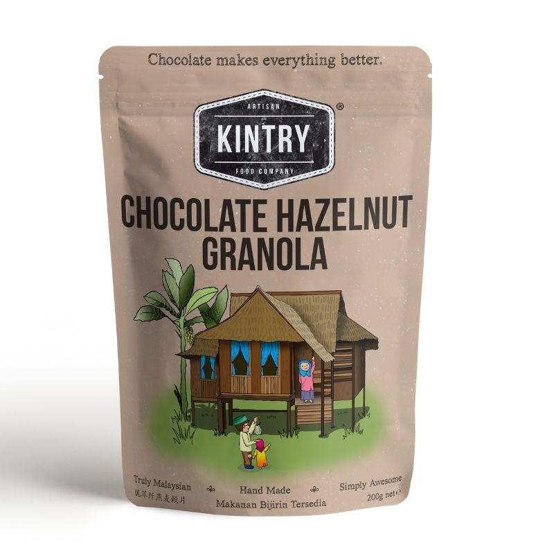Chocolate Hazelnut Granola - Kintry