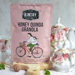 Honey Quinoa Granola -no nuts-