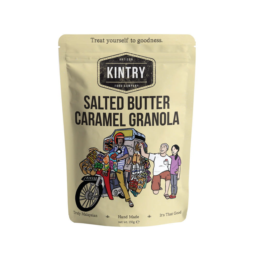 Load image into Gallery viewer, Salted Butter Caramel Granola - Kintry