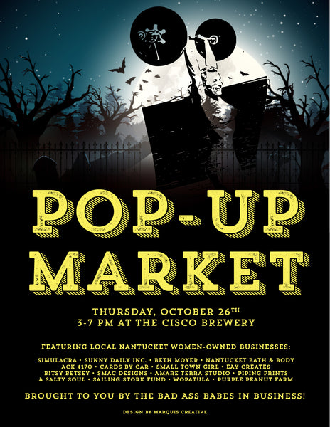 October Pop-Up with #badassbabesinbusiness
