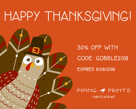 Thanksgiving Sale Starts Today!
