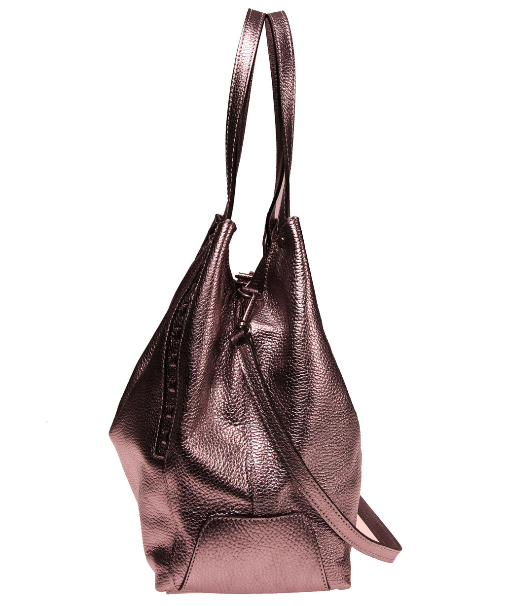 Italian Whipstitch Double Handle Hobo (4408282841172)